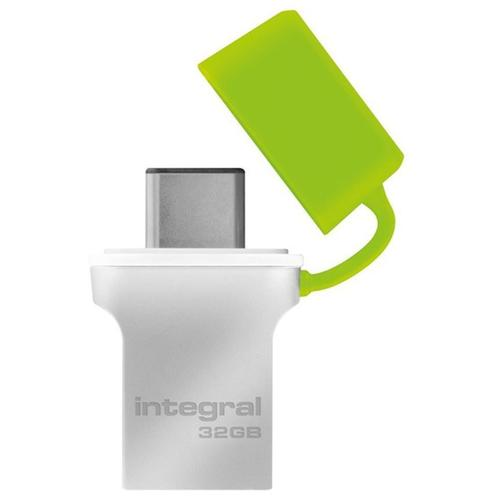 Integral 32GB Fusion USB-C 3.1 Flash Drive - 120MB/s