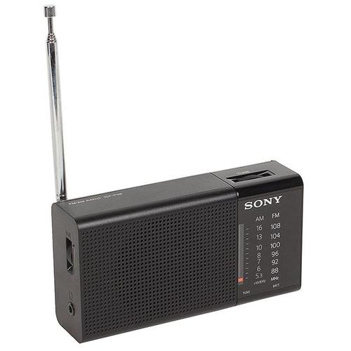 Sony Portable AM/FM Radio - Black (ICF-P36)