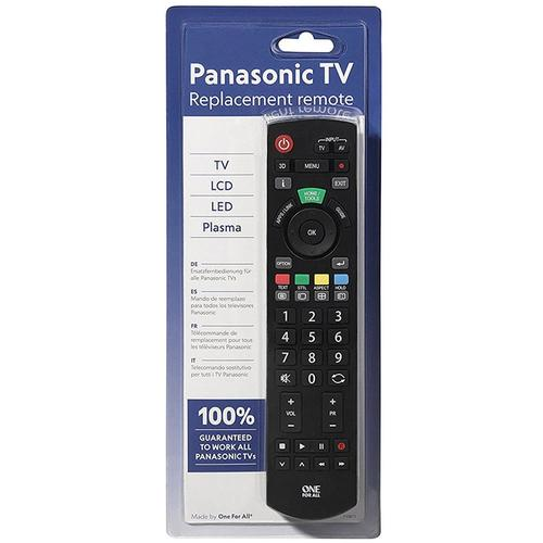 One For All Panasonic Replacement TV Remote (URC1914)