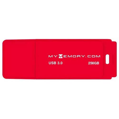 MyMemory 256GB 3.0 USB Flash-Laufwerk - 200MB/s - Rot