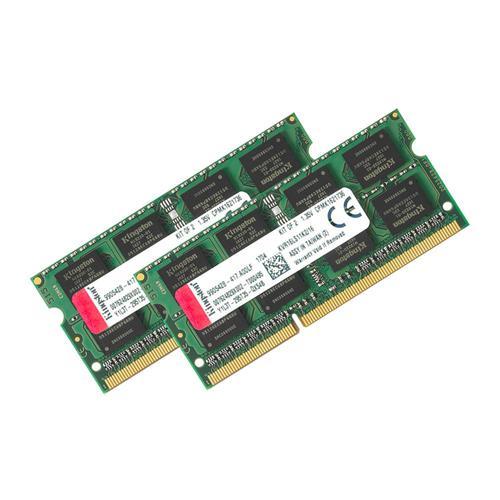 Kingston ValueRAM 16GB (2x8GB) Memory Kit 1600MHz DDR3L 204-Pin Non-ECC CL11 SODIMM 1.35V Unbuffered
