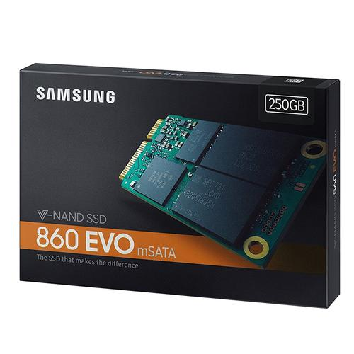 Samsung 250GB SSD 860 EVO mSATA Internal Solid State Drive - 6Gb/s