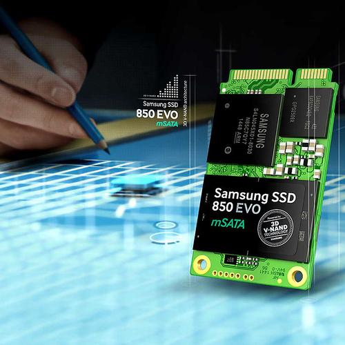 Samsung 250GB SSD 860 EVO mSATA Internal SSD - 550MB/s