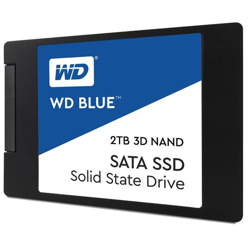 "WD 2TB SSD Blue 3D NAND SATA 2.5"" Internal SSD - 6Gb/s"