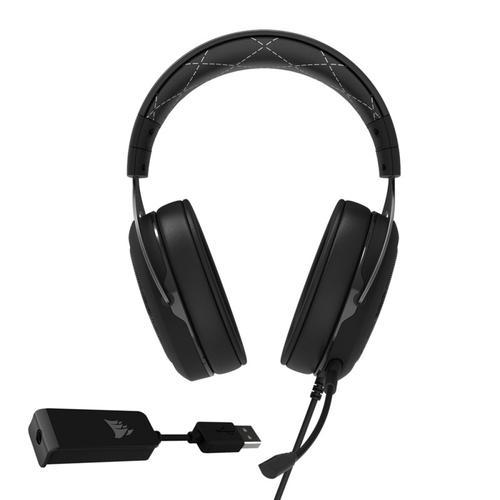Corsair HS60 Surround 7 1 Surround Gaming Headset - White