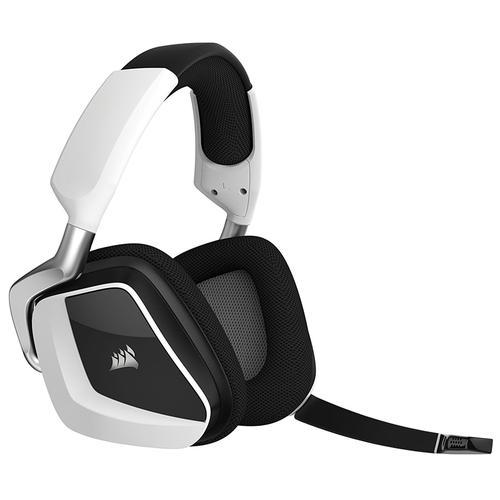 Corsair Void Pro RGB Wireless 7.1 Surround PC Gaming Headset - White