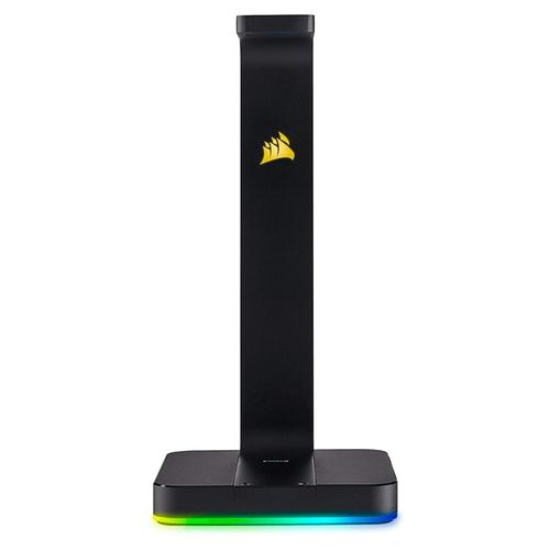Corsair Gaming ST100 RGB Surround 7.1 Premium Headphone Stand - Black
