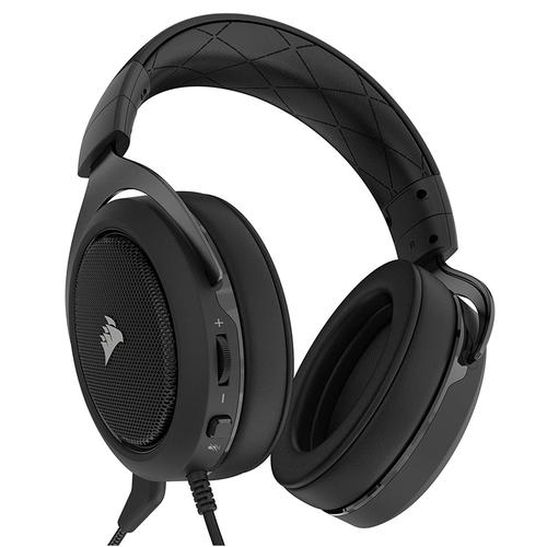 Corsair HS50 Stereo Gaming Headset - Carbon