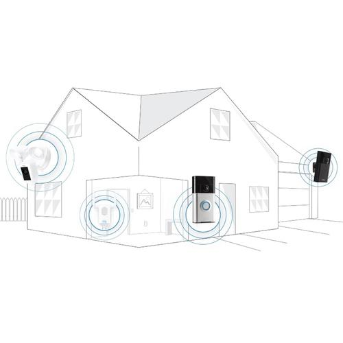 Ring Chime Pro Wi-Fi Extender & Door Chime - White