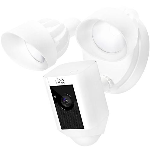 Ring Floodlight Wireless Home Security Camera - White