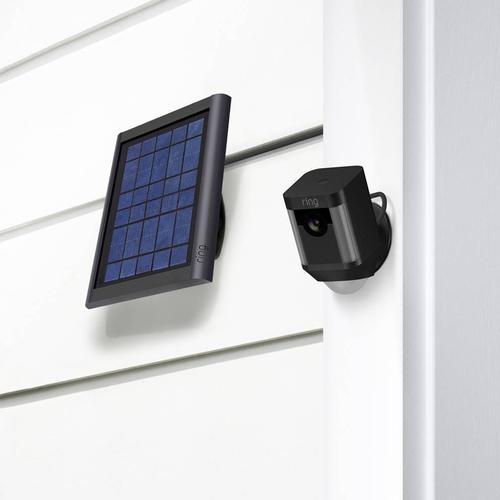 Ring Spotlight Solar Panel for Ring Spotlight Cameras - Black