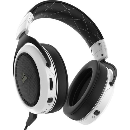 Corsair HS70 Wireless Gaming Headset 7.1 Surround Sound + Mic (White)