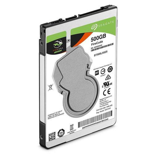 "Seagate FireCuda 500GB 2.5"" SATA III 2.5"" cMLC NAND Internal SSHD - 140MB/s"