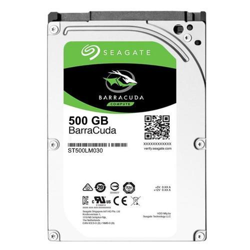 "Seagate BarraCuda 500GB 128MB 2.5"" SATA Internal HDD"
