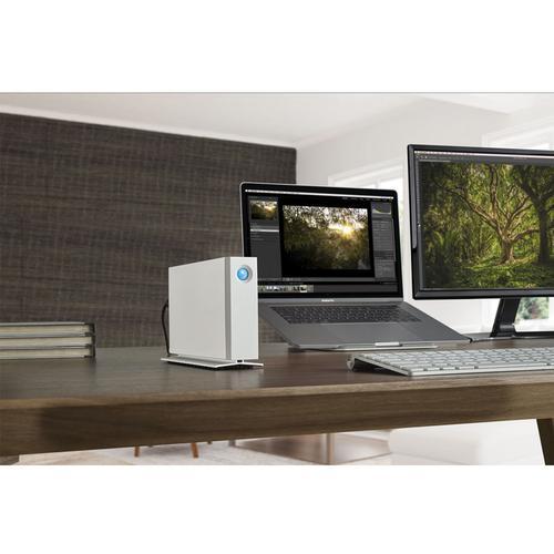 LaCie D2 Professional (10TB) USB-C Hard Disk Drive - Silver