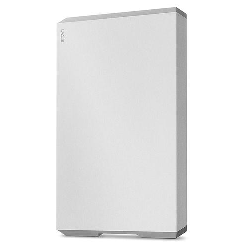 LaCie 1TB Mobile HDD USB 3.0 Type-C - Moon Silver