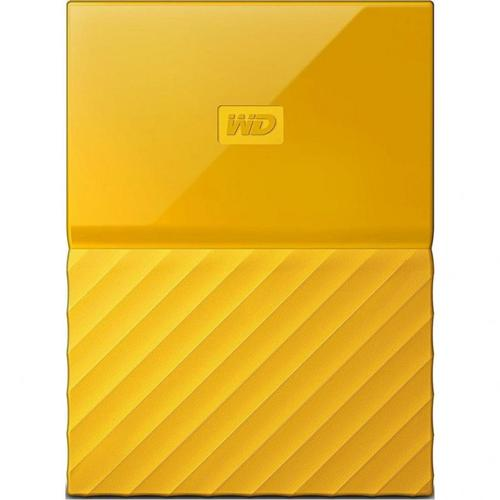 WD 2TB My Passport USB 3.0 Portable Hard Drive Yellow - 460MB/s