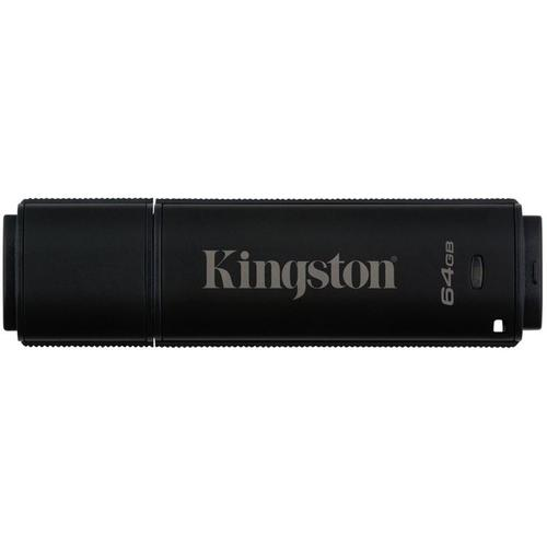 Kingston DataTraveler 4000 64GB Standard USB Flash Drive 256-bit Hardware Encryption