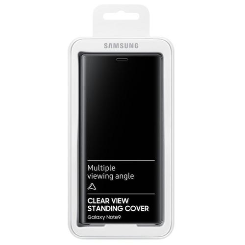 Samsung S-View Flip Cover (Black) for Galaxy Note9 Smartphones
