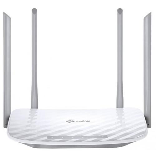 TP-Link Archer C50 AC1200 867Mbps (5GHz) 300Mbps (2.4GHz) Dual-Band Wireless Router White (V3.0)