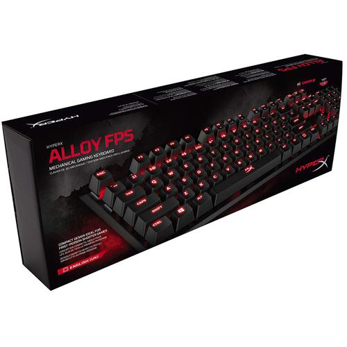 HyperX Alloy FPS Mechanical Gaming Keyboard Cherry MX Red (English UK)