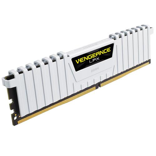 Corsair Vengeance LPX 16GB (2x8GB) 3000MHz DDR4 CL15 DIMM PC Memory Module - White