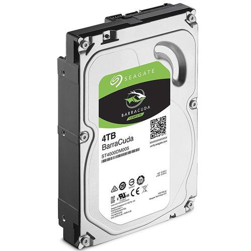 "Seagate 4TB HDD BarraCuda Internal SATA III 3.5"" Hard Drive 256MB Cache - 190MB/s"