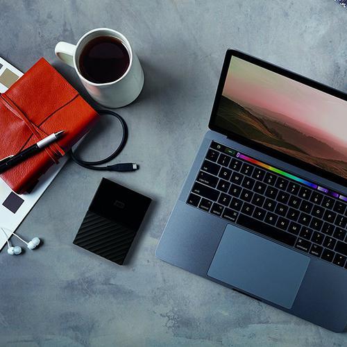 WD 4TB Portable HDD My Passport for Mac External Hard Drive USB-C - 5Gb/s