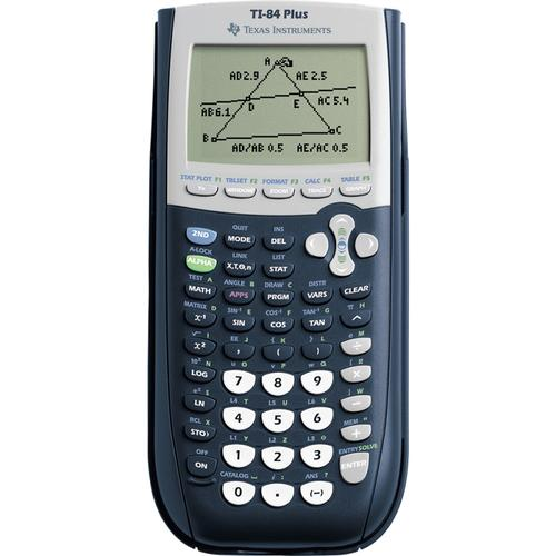 Texas Instruments TI84 PLUS Graphic Calculator with USB Technology