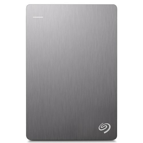 Seagate 1TB HDD BackUp Plus Portable Hard Drive USB 3.0 - 5Gb/s - Silver