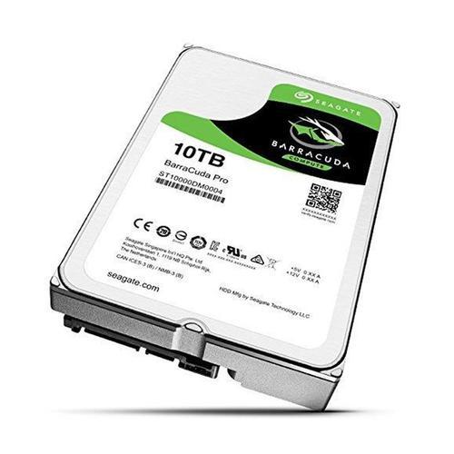 "Seagate 10TB HDD BarraCuda Pro 3.5"" Internal Hard Drive SATA III - 6.0 Gbps"