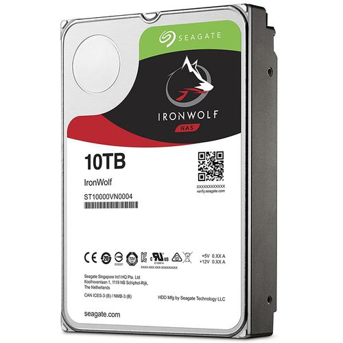 "Seagate 10TB HDD IronWolf 3.5"" Internal HDD SATA III - 6.0 Gbps"