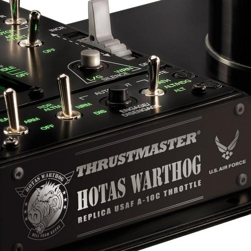 Thrustmaster Hands On Throttle And Stick HOTAS Warthog Joystick