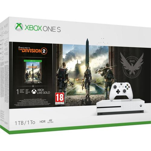 Bundle: Microsoft Xbox One S 1TB with Division 2