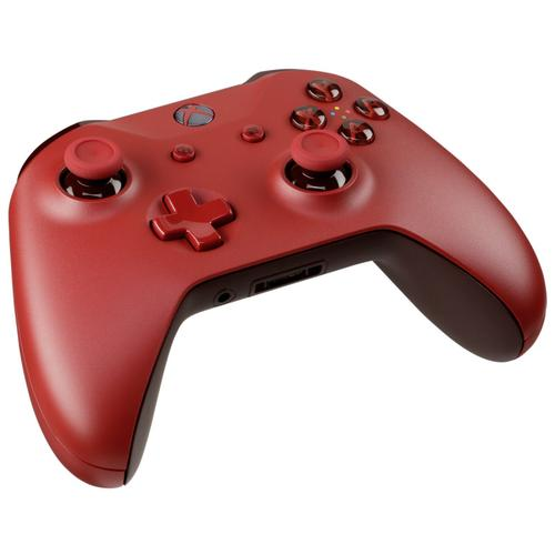 Microsoft Xbox One Wireless Controller 3.5mm (Red) - Official