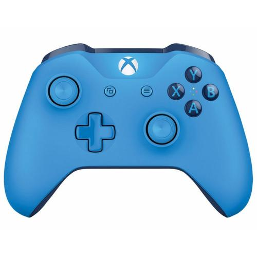 Microsoft Xbox One Wireless Controller 3.5mm (Blue) - Official