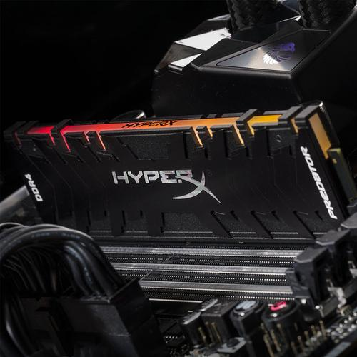 HyperX Predator RGB 16GB (2x8GB) 3200MHz DDR4 Non-ECC 288-Pin CL16 DIMM PC Memory Module