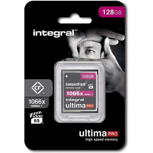 Integral 128GB 1066X Ultima PRO Compact Flash Card VPG-65 UDMA-7 - 160MB/s