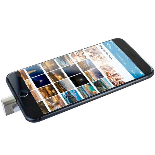 Integral 128GB iShuttle iPhone-iPod USB 3.0 Flash Drive - 60MB/s