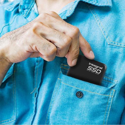 Integral 240GB USB 3.0 Portable SSD Drive - 400MB/s
