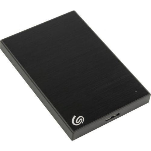 Seagate 2TB Backup Plus Slim USB 3.0 Portable Hard Drive External (Black) - 540MB/s