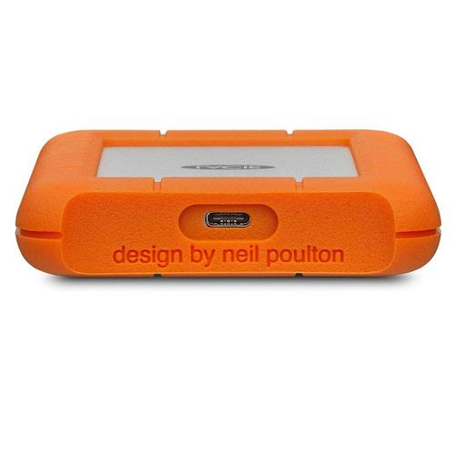 "LaCie Rugged 1TB Portable 2.5"" USB 3.0 HDD - 130MB/s"