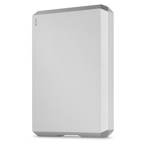 LaCie (5TB) Mobile HDD USB 3.0 Type-C - Moon Silver