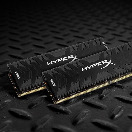 HyperX Predator 8GB (1x8GB) Memory Module PC4-19200 2400MHz DDR4 CL12 288 Pin DIMM 1.35V
