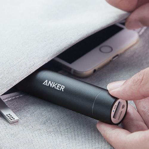 Anker PowerCore+ Mini 3350mAh Portable Power Bank - Black