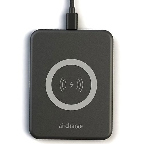 64e9bff518dd9 Aircharge Qi-Certified 5W Wireless Slimline Charging Pad - Black £22.99 -  Free Delivery