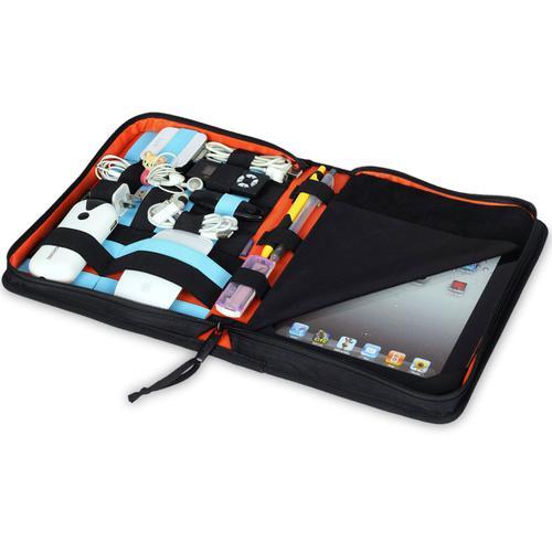 BUBM iPad Business Bag Folder Wallet - Black