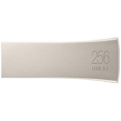 Samsung 256GB Bar Plus USB 3.1 Flash Drive 300MB/s - Champagne Silver