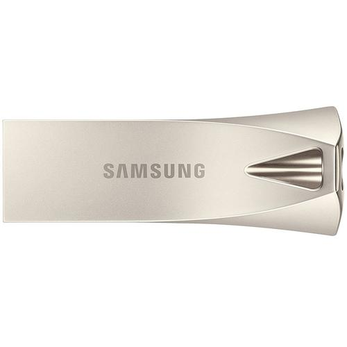 Samsung 128GB Bar Plus USB 3.1 Flash Drive 300MB/s - Champagne Silver