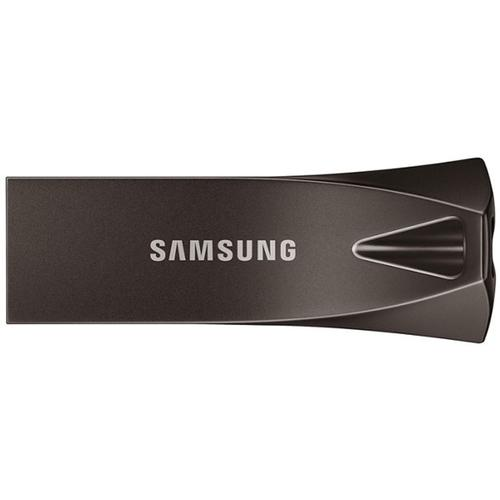 Samsung 256GB Bar Plus USB 3.1 Flash Drive 300Mb/s - Titan Grey